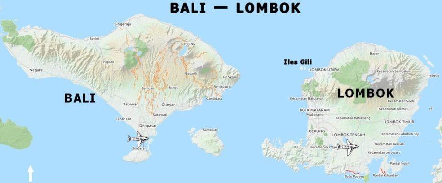 Carte De Bali Et Lombok.Olaolalombok How To Get To Selong Belanak South Lombok